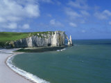 Falaises, Near Etretat, Haute Normandie, France Photographic Print by Merten Hans Peter