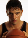 Portrait of Male Basketball Player Photographic Print by Chris Trotman