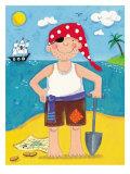 Treasure Island IV Premium Giclee Print by Sophie Harding