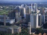 Aerial View over Nairobi, Kenya, East Africa, Africa Photographic Print by Groenendijk Peter