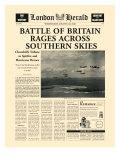 Battle of Britain Rages Premium Giclee Print