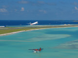 Male International Airport, Maldives, Indian Ocean Photographic Print by Papadopoulos Sakis
