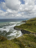 Basque Coast from High Viewpoint, Costa Vasca, Euskadi, Spain, Europe Photographic Print by Groenendijk Peter