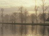 Long Water at Dusk, Hampton Court, London, England, United Kingdom, Europe Photographic Print by Macleod Iain