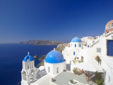 Oia, Santorini, Cyclades, Greek Islands, Greece, Europe Fotografisk tryk af Papadopoulos Sakis