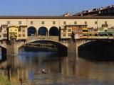 Ponte Vecchio Bridge, Florence, UNESCO World Heritage Site, Tuscany, Italy, Europe Photographic Print by Groenendijk Peter