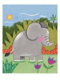 Baby Elephant Premium Giclee Print by Sophie Harding
