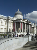 National Gallery, Trafalgar Square, London, England, United Kingdom, Europe Photographic Print by Wogan David