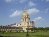 Hotel Des Invalides, Paris, France, Europe Photographic Print by Merten Hans Peter