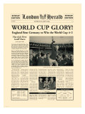 1966 World Cup Premium Giclee Print by  The Vintage Collection