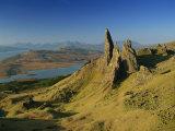 Old Man of Storr, Trotternish, Isle of Skye, Highland Region, Scotland, United Kingdom, Europe Photographic Print by Edwardes Guy
