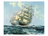 Ariel and Taeping Premium Giclee Print by Montague Dawson