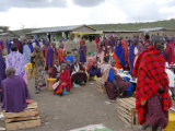 Masai Market, Arusha, Tanzania, East Africa, Africa Photographic Print by Groenendijk Peter