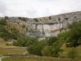 Malham Cove, Malham, Yorkshire Dales National Park, North Yorkshire, England, United Kingdom Photographic Print by White Gary