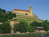 14th Century Castle and Vine Slopes at Melnik in the Prague Region, Central Bohemia, Czech Republic Photographic Print by Strachan James