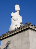 Statue of Alison Lapper, Pregnant, Trafalgar Square, London, England, United Kingdom, Europe Photographic Print by White Gary