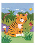 Baby Tiger Premium Giclee Print by Sophie Harding