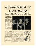 Beatlemania! Premium Giclee Print by  The Vintage Collection