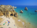 Beach at Lagos, Algarve, Portugal, Europe Photographic Print by Papadopoulos Sakis