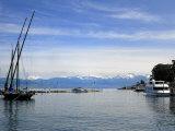 Port Des Mouettes, Lac Leman, Evian-Les Bains, Haute-Savoie, France, Europe Photographic Print by Richardson Peter