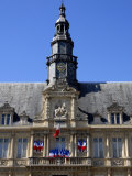 Hotel De Ville, Reims, Marne, Champagne-Ardenne, France, Europe Photographic Print by Richardson Peter