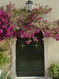 Doorway of Paleokastritsa Monastery, Corfu, Ionian Islands, Greek Islands, Greece, Europe Photographic Print by Merten Hans Peter