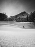 Visic Pass in Winter, Triglav National Park, Julian Alps, Slovenia, Europe Photographic Print by Edwardes Guy