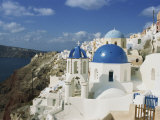 Oia, Santorini, Cyclades Islands, Greek Islands, Greece Photographic Print by Merten Hans Peter