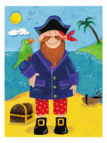 Treasure Island III Premium Giclee Print by Sophie Harding
