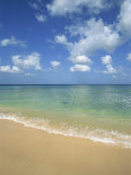Calm Water on Beach at Paynes Bay, Barbados, West Indies, Caribbean, Central America Photographic Print by Merten Hans Peter
