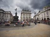 Piccadilly Circus, London, England, United Kingdom, Europe Photographic Print by Wogan David