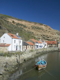Staithes, North Yorkshire, England, United Kingdom, Europe Photographic Print by Wogan David