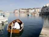 Port of Le Palais, Belle Ile, Brittany, France, Europe Photographic Print by Groenendijk Peter