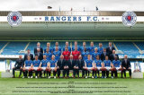 Rangers 2009-2010 Poster