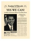 Yes We Can! Premium Giclee Print by  The Vintage Collection