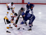 Ice Hockey Face Off, Torronto, Ontario, Canada Photographic Print by Paul Sutton