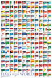 Flags of the World Pôsters