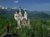 Neuschwanstein Castle, Germany, Europe Photographic Print by Williams Andy