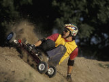 Mountain Boarder in Action, Colorado Springs, Colorado, USA Photographic Print