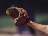 Baseball Catcher's Mitt Photographic Print