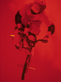 Bmx Cyclist Photographic Print by Paul Sutton