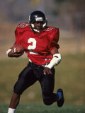 Football Running Back Photographic Print