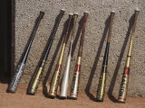 Baseball Bats Photographic Print by Steven Sutton