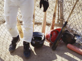 Baseball Equipment Photographic Print by Chris Trotman
