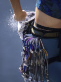 Detail of Female Rock Climber and Equipment, New Paltz, New York, USA Photographic Print