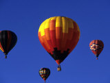 Hot Air Ballooning, Albuquerque, New Mexico, USA Photographic Print by Paul Sutton