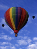 Hot Air Ballooning, Albuquerque, New Mexico, USA Fotografie-Druck von Paul Sutton