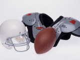 American Football Gear Photographic Print