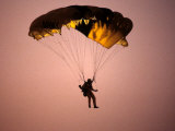 Sky Diver Floating in the Air Photographic Print by Paul Sutton