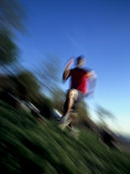 Male Runner Out for a Fitness Run, New York, New York, USA Photographic Print by Chris Trotman
